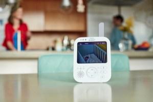 Baby in Sicht: Das dgitale Video-Babyphone von Philips Avent sorgt für klare Bilder auch bei dunklen Lichtbedinungen im Babyzimmer.