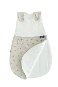 Ein Rundumreißverschluss wie beim Liebmich-Schlafsack von Träumeland erleichtert nächtliches Wickeln.