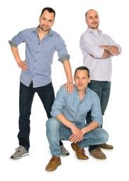 Gründer von Leschi: Franz Hoffmann, Sven-Oliver Nerger und Oktay Karatas (v.l.n.r.)