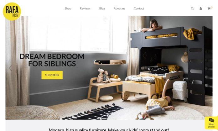 Screenshot der Marke Rafa Kids