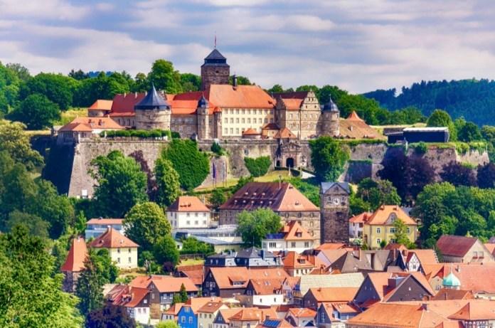 Kronach mit Festung Rosenberg im Herzen Oberfrankens