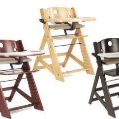 Table Height High Chair Bedroom Placement Keekaroo Right Wooden