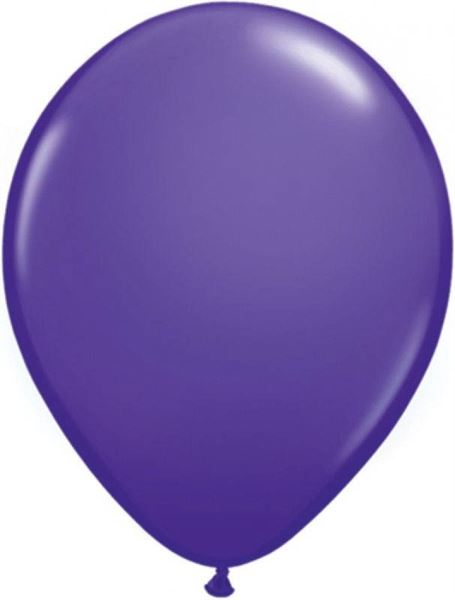 Qualatex Ballon Lila 30cm  Qualatex Ballons 30 cm