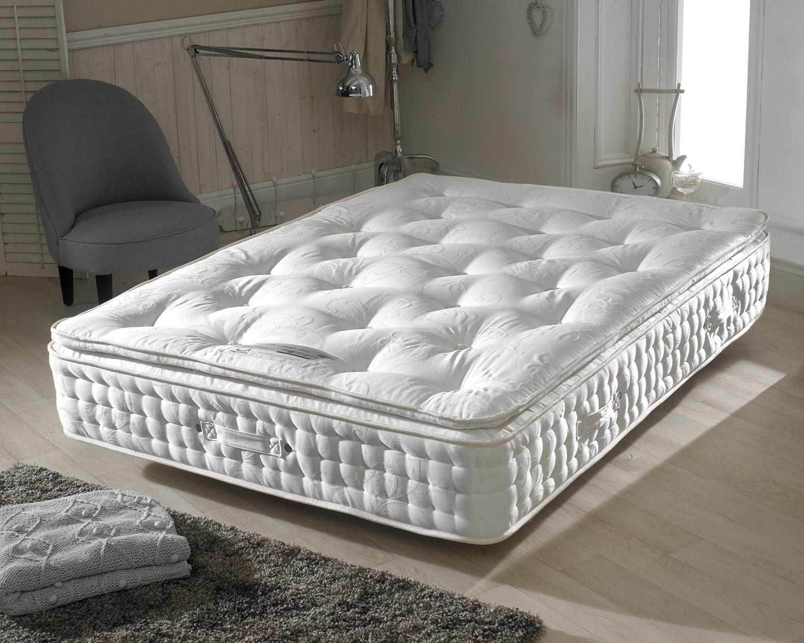 pillow top sofa bed mattress pad queen sleeper dimensions happy beds signature 2000 natural pocket sprung pillowtop
