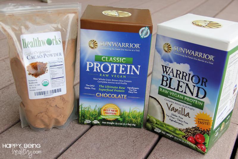 happy summer + sunwarrior protein powder | happy being healthy