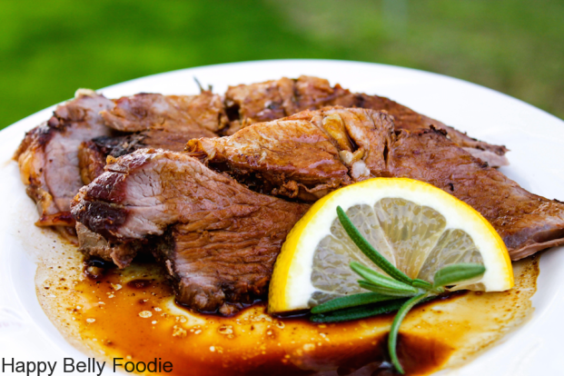 Roasted Leg of Lamb ~ the farmer's advice