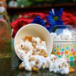 Salted Honey Popcorn Treats