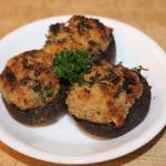Fresh Clam Stuffed Mushrooms