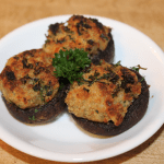 Fresh Clam Stuffed Mushrooms