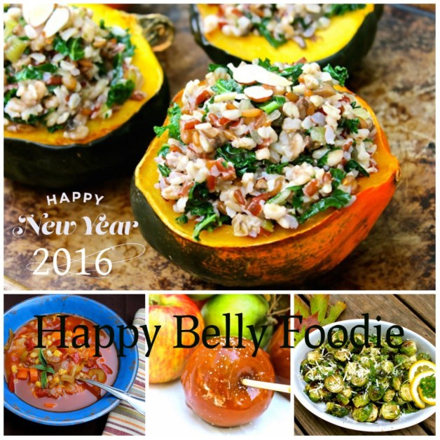 Happy New Year from Happy Belly Foodie!