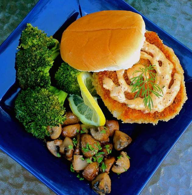 Shrimp Burger pic