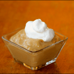Butterscotch Pudding with Freshly Whipped Cream