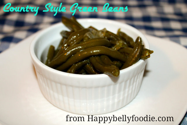 Pressure Cooker Country Style Green Beans have that same great slow-cooked taste in a fraction of the cooking time. from Happybellyfoodie.com