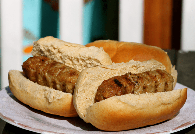 Homemade Skinless Bratwurst