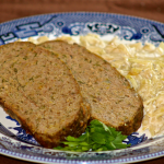 Irish Meatloaf with Creamed Cabbage