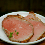 Herb Crust Eye of Round Roast