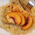Instant Pot Spicy Peach Chicken