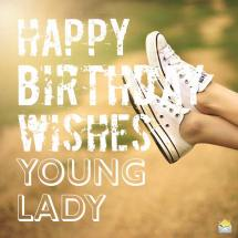 99th Happy Birthday Young Lady Imgurl