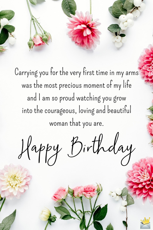 Proud Daughter Birthday Quotes : proud, daughter, birthday, quotes, Beautiful, Quotes, Daughter, Birthday
