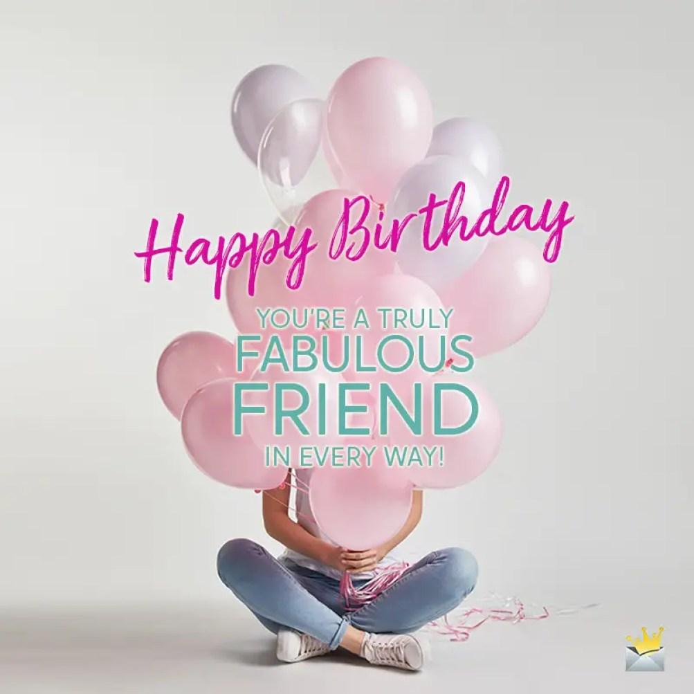 Birthday Wishes for Best Female Friend | Happy Bday, Amiga!