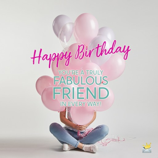 Happy Birthday Images For Female Friend