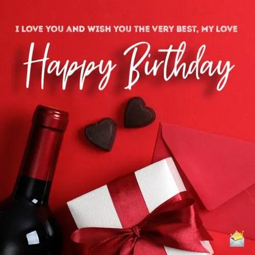 images of happy birthday my love