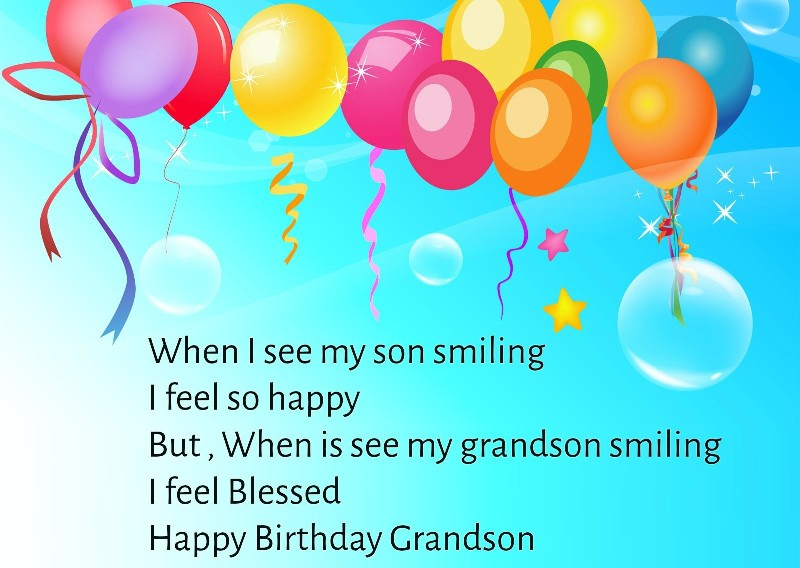44 Birthday Pics For Your Loving Grandson