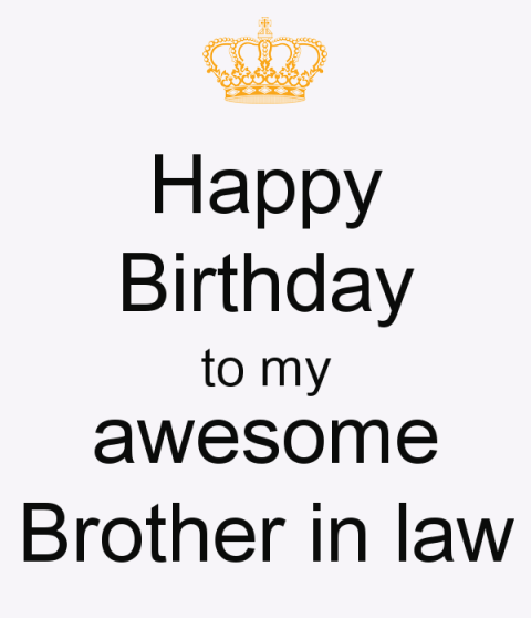 29 Happy Birthday Pictures For Brother In Law