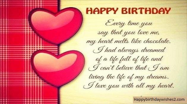 100 romantic birthday wishes