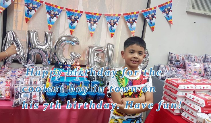 Happy 7th Birthday Wishes For Baby Girl & Baby Boy