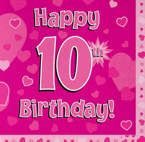 Happy Birthday Wishes For 10 Year DaughterHappy Daughter