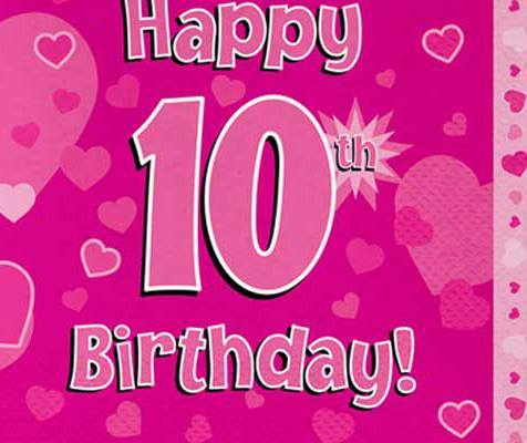 Happy Birthday Wishes For 10 Year DaughterHappy Birthday Wishes For 10 Year Daughter
