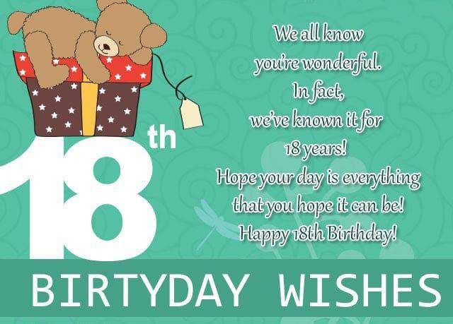 Amazing Top 100 Happy 18Th Birthday Wishes For Girl Boy Funny Birthday Cards Online Alyptdamsfinfo