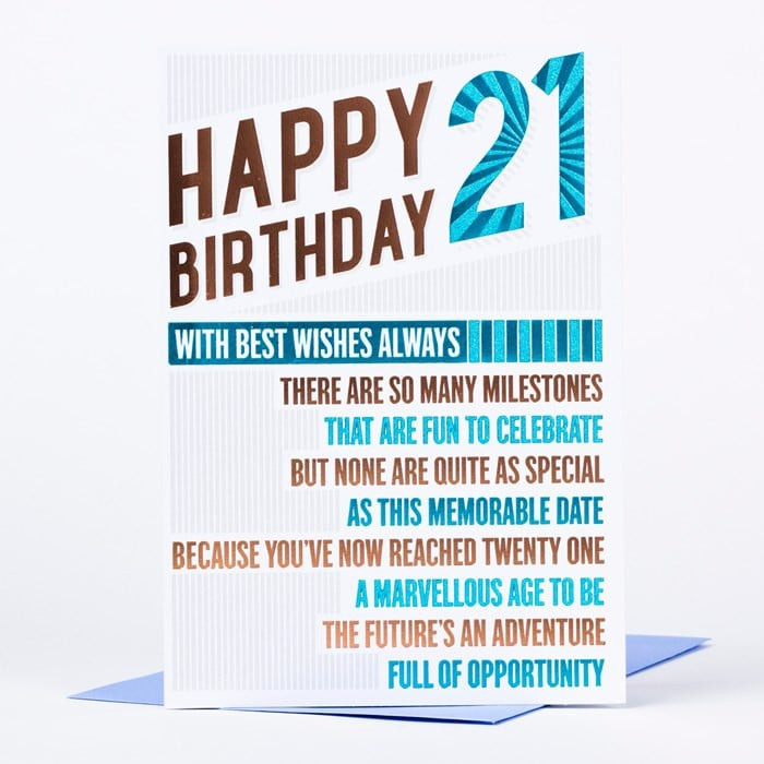 happy birthday cards 21 years old 21st birthday card happy birthday 21 of happy birthday cards 21 years old