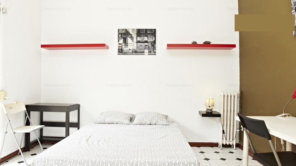 Busco habitación luminosa en piso compartido Barcelona