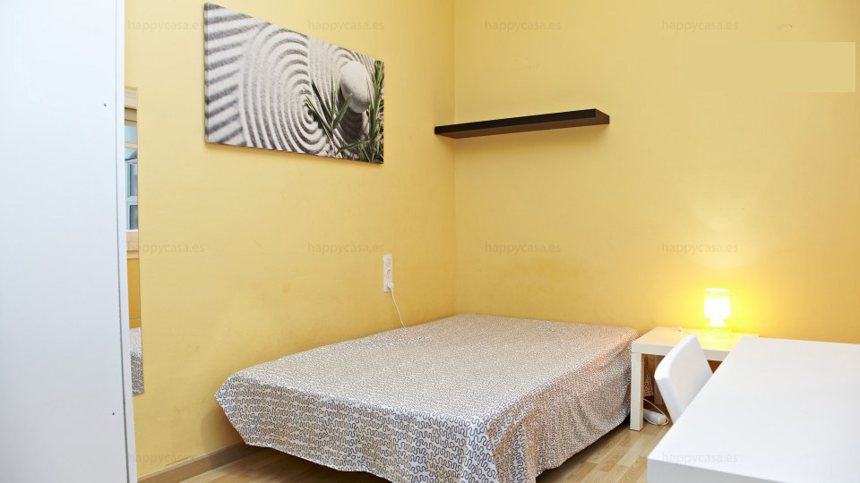 Valcarca Lesseps Metro rooms for students barcelona