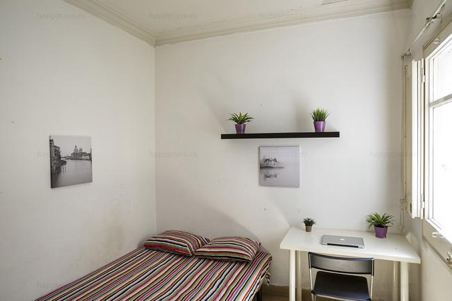 Alquilar habitación en Barcelona para estudiantes Erasmus L3