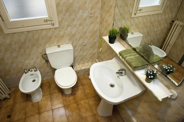 Cuarto de baño completo en apartamento compartido Barcelona