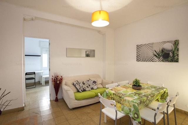 Salón agradable en zona céntrica Barcelona para compartir