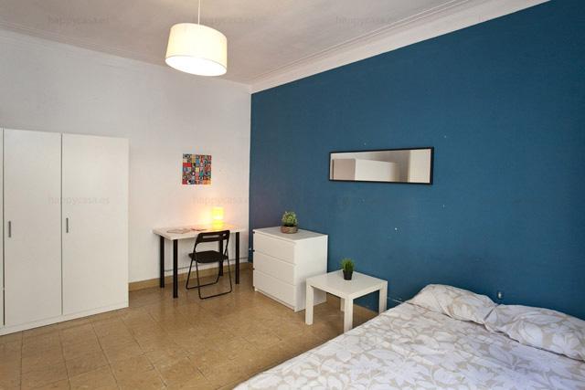 Alquiler de habitación en Barcelona al lado de Plaza Lesseps ALT