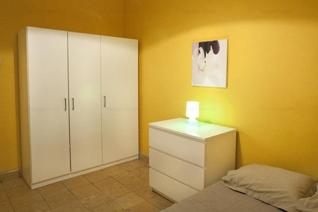 Grácia habitación doble con mucha luz piso estudiantes Barcelona