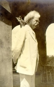 Mark Twain & Friend