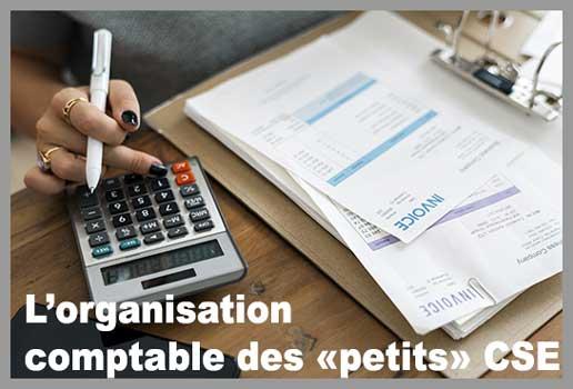 organisation comptable d'un petit CSE (comité sociale et économique)