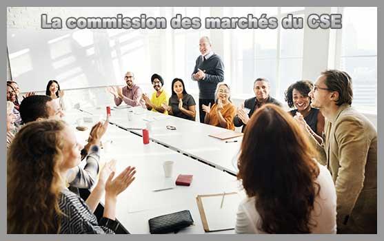 la commission des marchés du CSE