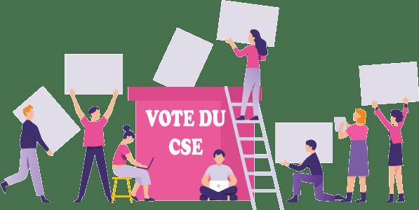 Les élections professionnelles du CSE sont suspendus