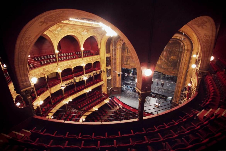 Visite du Théâtre du Chatelet