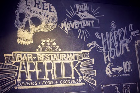 Restaurant Apérock : drinks, food & good music - Paris