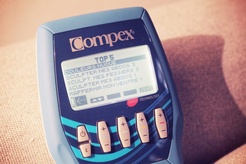 Compex electrostimulateur Compex
