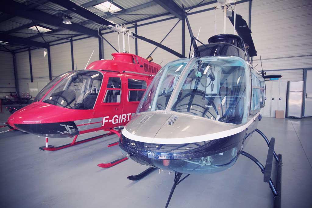 Vol en hélicoptère depuis Paris