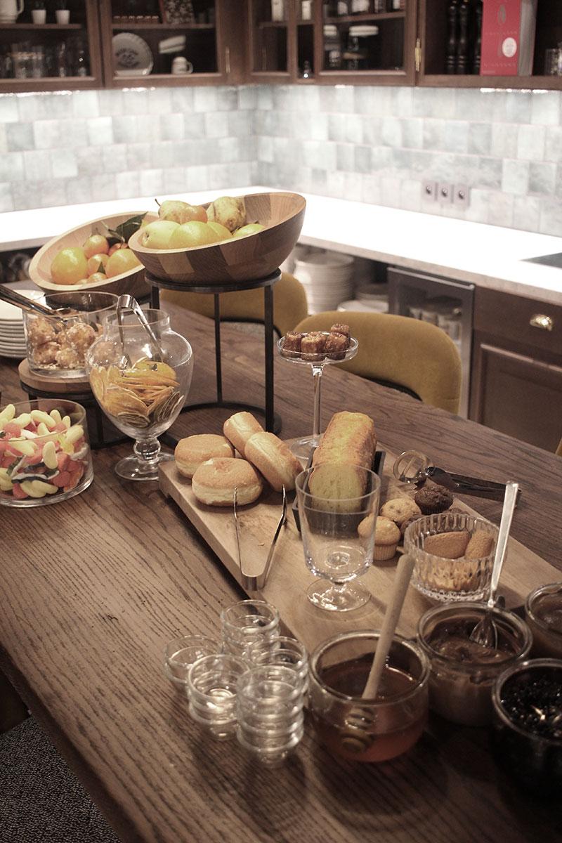 L'heure du goûter à l'hôtel St-Alban à La Clusaz